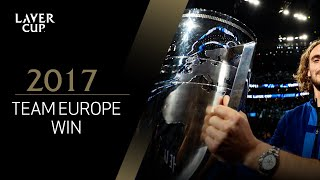 Team Europe reflect on winning the inaugural Laver Cup