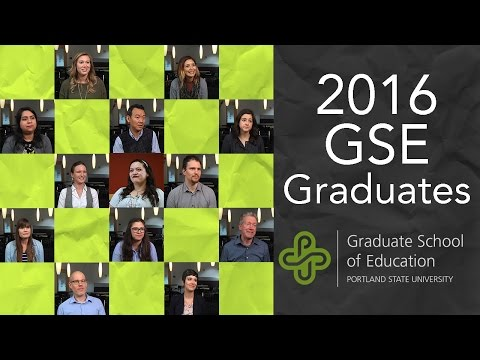 Graduate School of Education 2016 Graduates | Portland State University