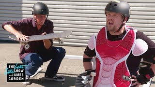 Tony Hawk Heard James Corden Can Shred