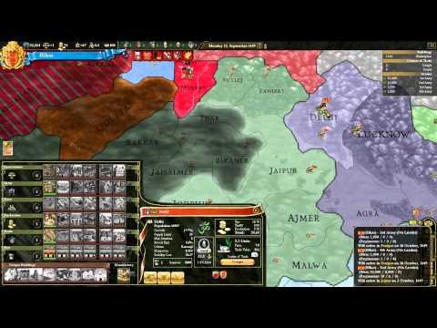 Let's Play Europa Universalis 3 III Divine Wind Bihar 05 HD