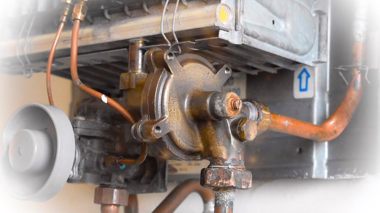 Calentador de agua o calefont no enciende se cambia diafragma o membrana