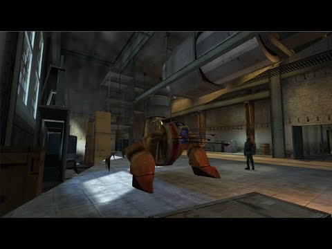 Half Life 2 Beta: Mat_gallery And Lab_01 (2002)