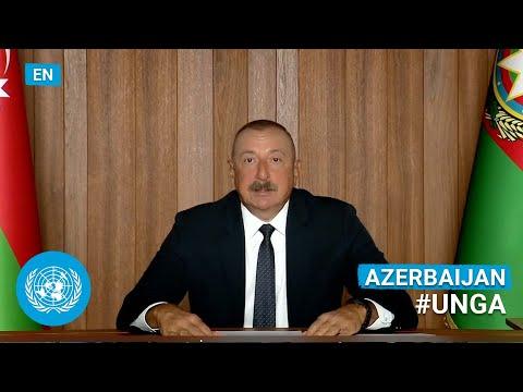 🇦🇿 Azerbaijan - President Addresses United Nations General Debate, 76th Session (English) | #UNGA