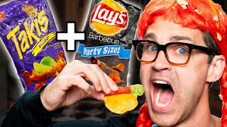 Weird Chip Combos Taste Test