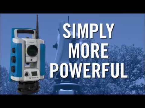 Spectra Precision Focus 35 Robotic Total Station