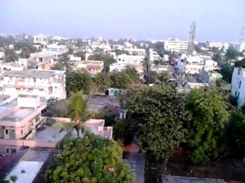 Guntur City aero view