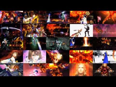 Dissidia 012 FF Cinematic Replay [ENG] - Party w/ Gilgamesh vs Feral Chaos w/ Garland