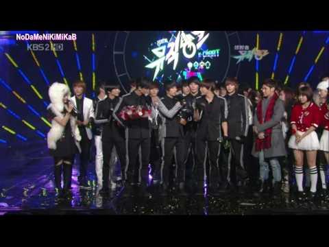 [HD] 091204 2PM Heartbeat (Winning & Encore) No.1 on M=B
