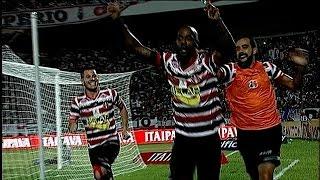 Melhores Momentos - Santa Cruz 1 x 0 Botafogo - Brasileirão Serie B 2015