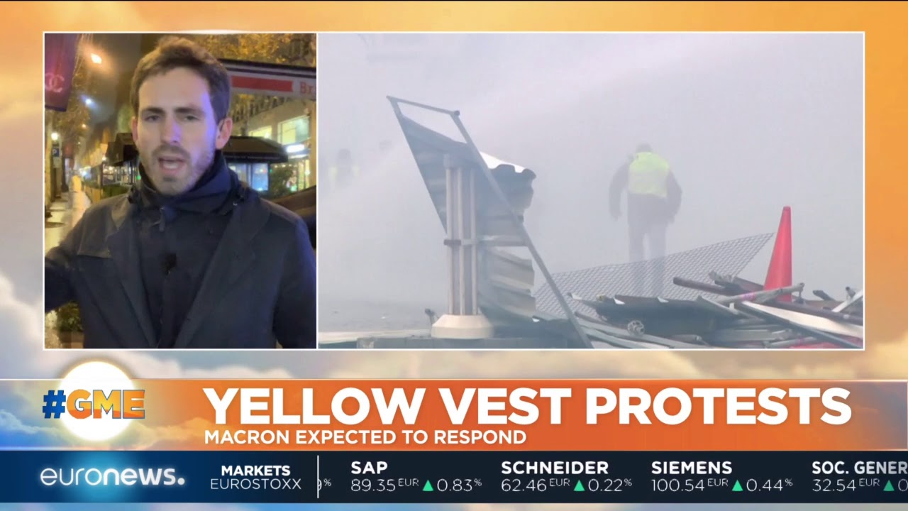 France: What's next for the Yellow Vest protests after another weekend of rage? | #GME