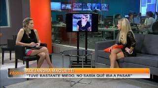 "Infobae |  Alejandra Maglietti - ""No me importa que piensen que soy una botinera"