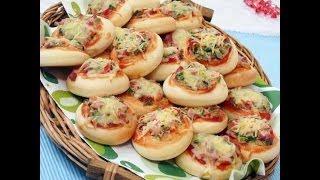 فطائر البيتزا مطبخ منال العالم