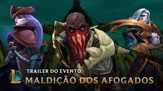 Águas Sombrias | Trailer do Evento Maldição dos Afogados - League of Legends thumbnail