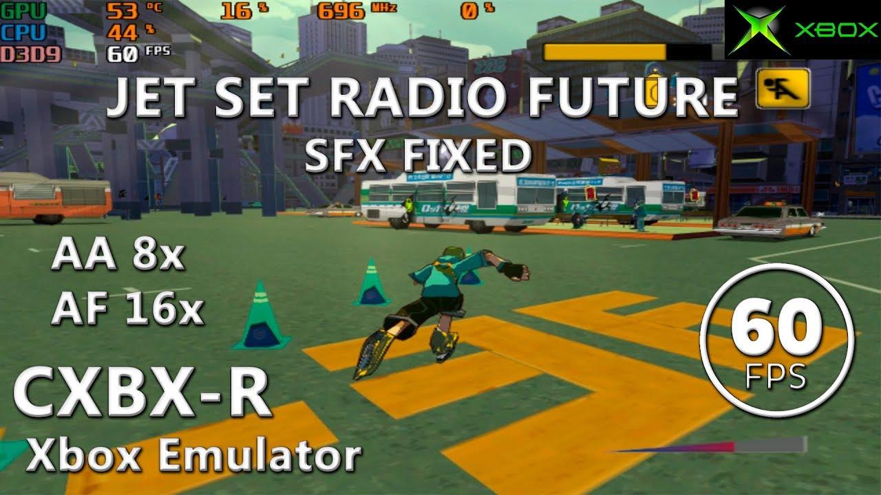 CXBX-R | Jet Set Radio: Future (Playable / 60 FPS) #3 - Bahax