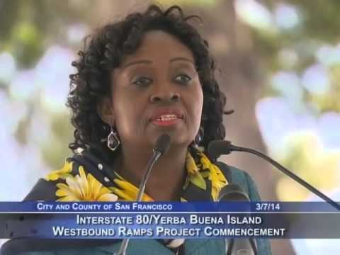 Interstate 80-Yerba Buena Island Westbound Ramps Project Commencement Ceremony