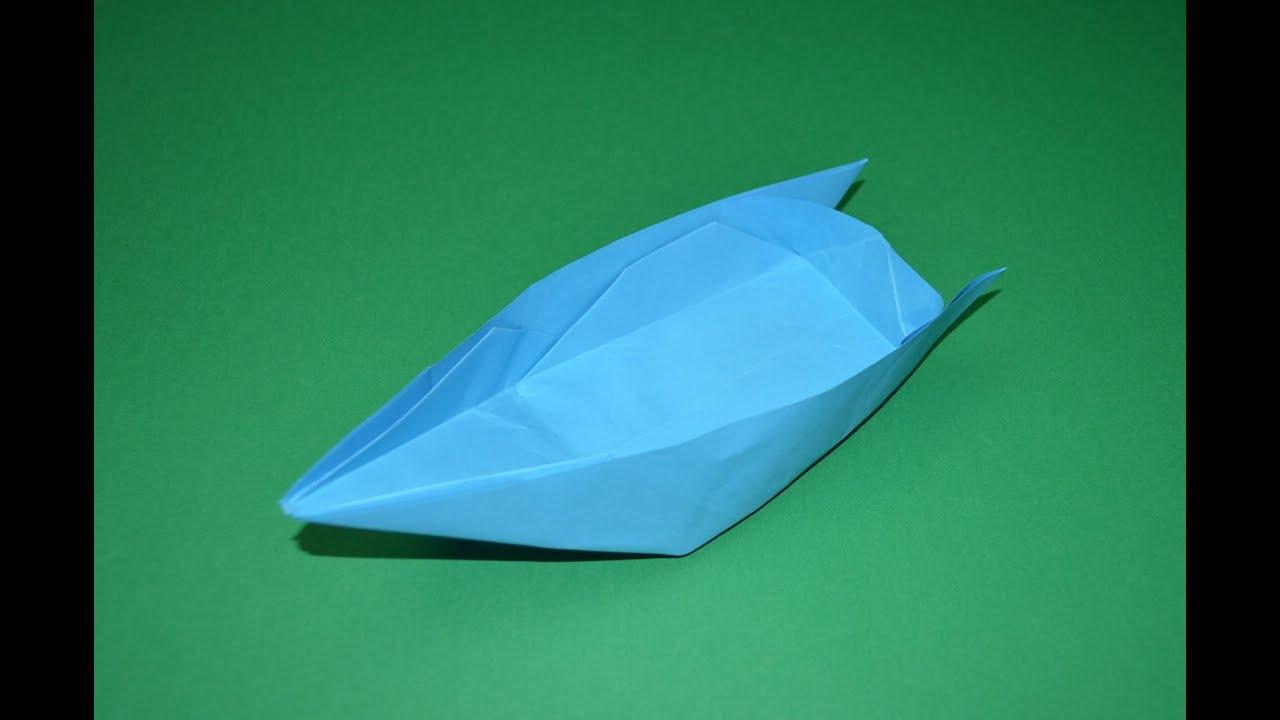 Como hacer un barco de papel origami youtube - Como hacer jarrones de papel ...
