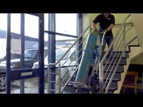 Stanley Stair Climbers for the Heating & Plumbing Sector
