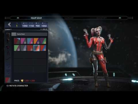 Injustice 2 Female Roster Shaders + Premieres