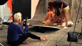 Roeline Daneel, Lalla Hirayama and Carishma Basday for Marie Claire SA Naked Issue 2013 Thumbnail