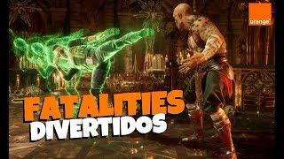 Fatalities de Mortal Kombat tan absurdos como divertidos