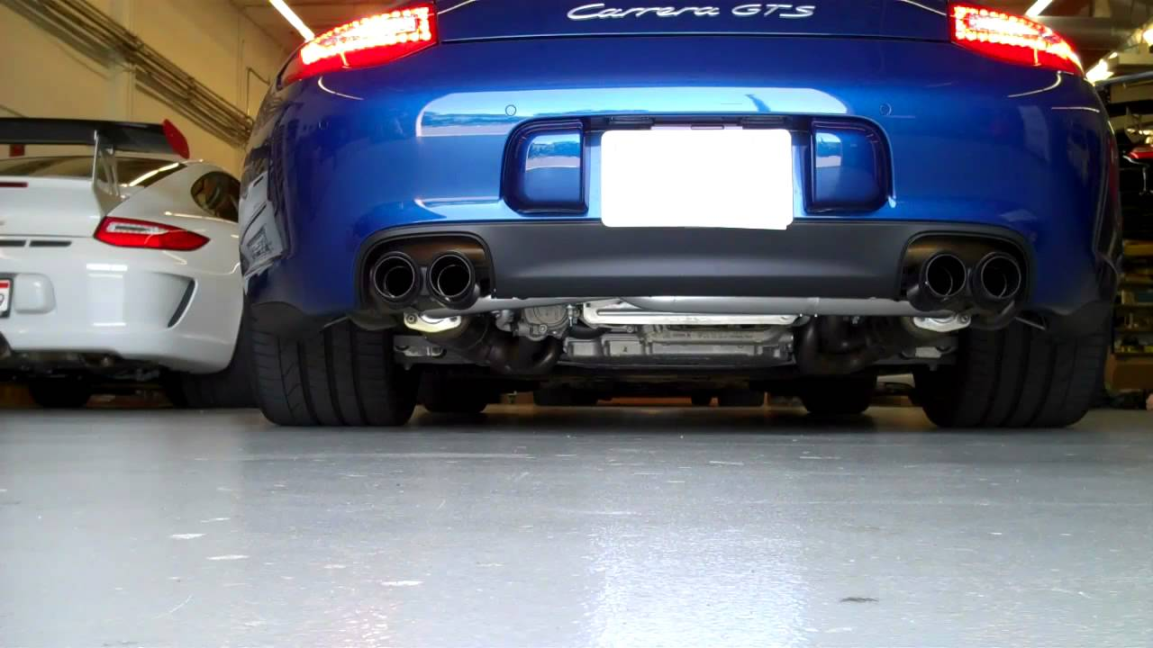 Sharkwerks Exhaust On 2011 Porsche 997 Gts With Porsche