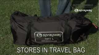 OUTDOOR WORLD Sprayway Rift L Tent