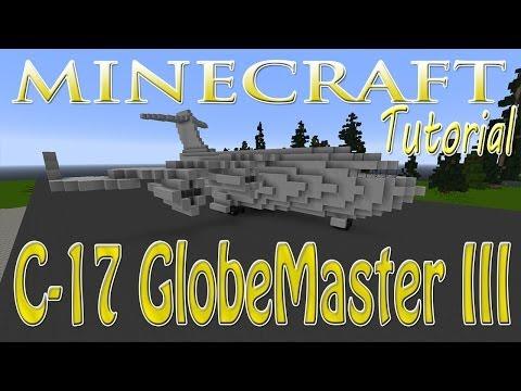Minecraft Boeing C-17 GlobeMaster III Tutorial