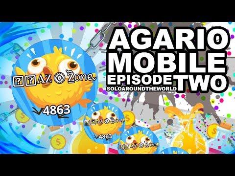 AGARIO MOBILE 1V10 SOLOING A CLAN (Agar.io Mobile Gameplays)
