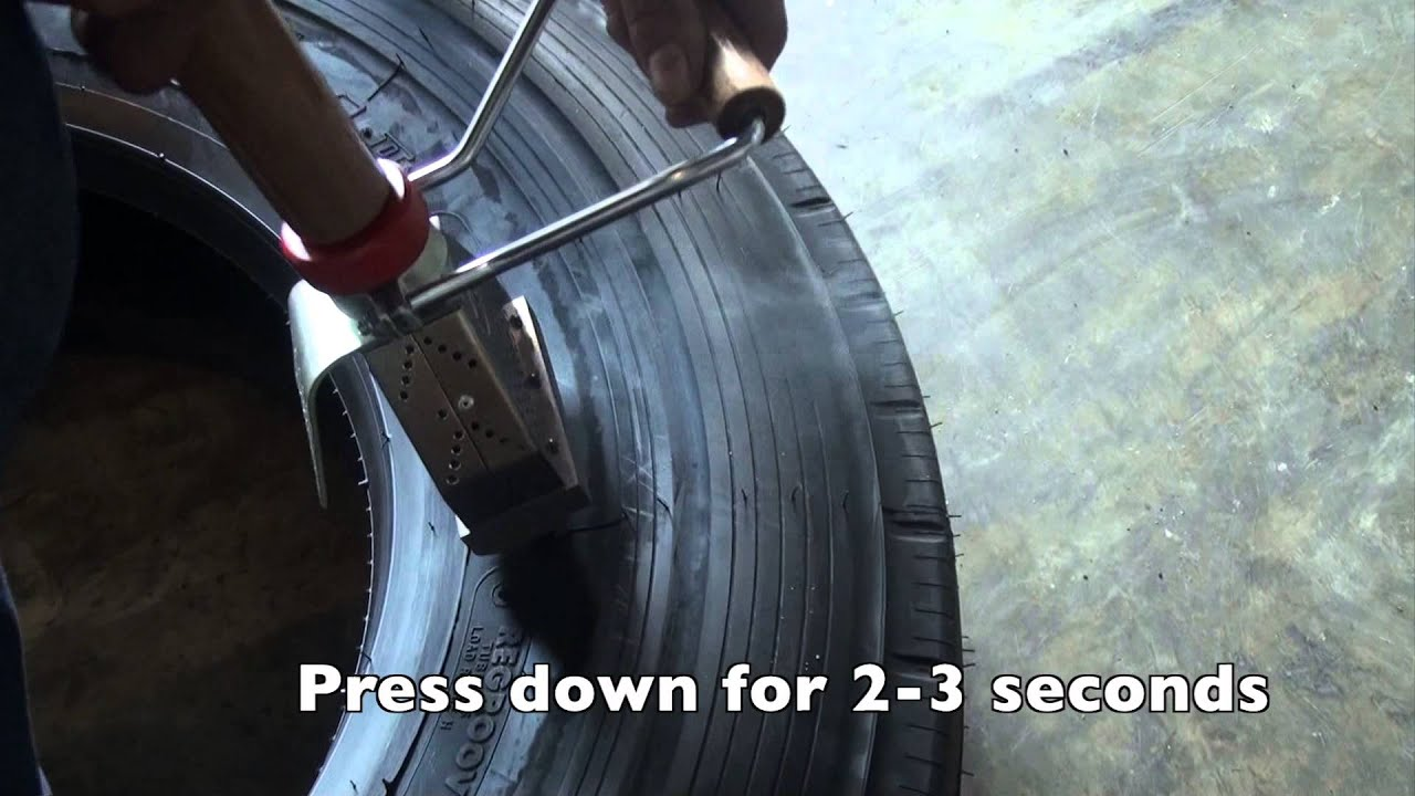 Tire Branding - YouTube