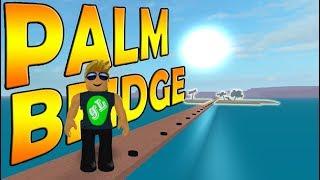 Lumber Tycoon 2 - DOOR BRIDGE - PALM WOOD