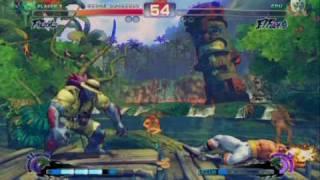 Super Street Fighter 4 - Gameplay Video 2