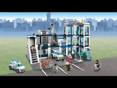 Lego 7498 Police Station City Police Instruction Booklet Youtube