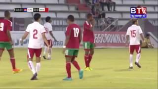 Full Match: Morocco All Stars VS Cambodia All-Stars . International Friendly Match 18 Dec 2016.
