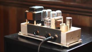 Vintage Bell & Howell Filmosound 385 Guitar Amplifier Conversion Demo