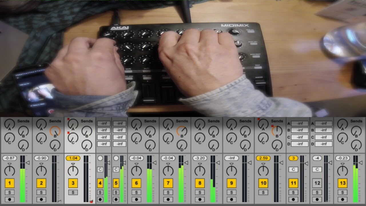 how to mix in ableton live 9