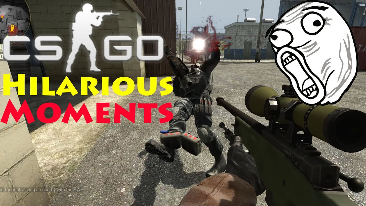 CS:GO - Hilarious Moments! - Key Bind Spamming, Guy Gets