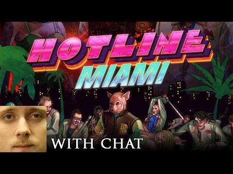 Forsen plays Hotline Miami