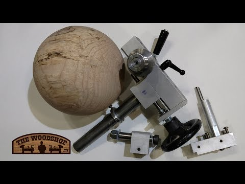 Wood Threading Jig / Sphere Jig Combo / Woodturning