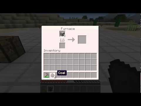 Minecraft How To: Make a Bucket - YouTube