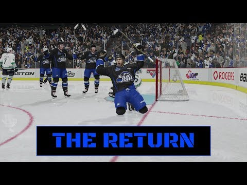THE RETURN | NHL 18 | Be A Pro Ep. 1