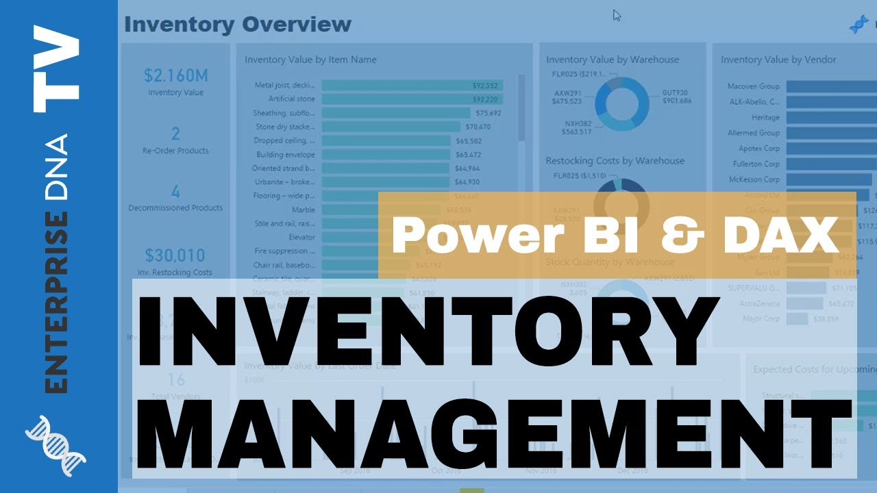 Inventory Management - Power BI Showcase