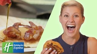 The Ultimate Breakfast Food Taste Test // Presented By BuzzFeed & Holiday Inn Express
