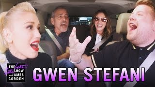 Gwen Stefani Carpool Karaoke (w/ George Clooney & Julia Roberts)(James Corden calls on Gwen Stefani to help him get to work, singing her classics along the way until they have to pick up two friends.