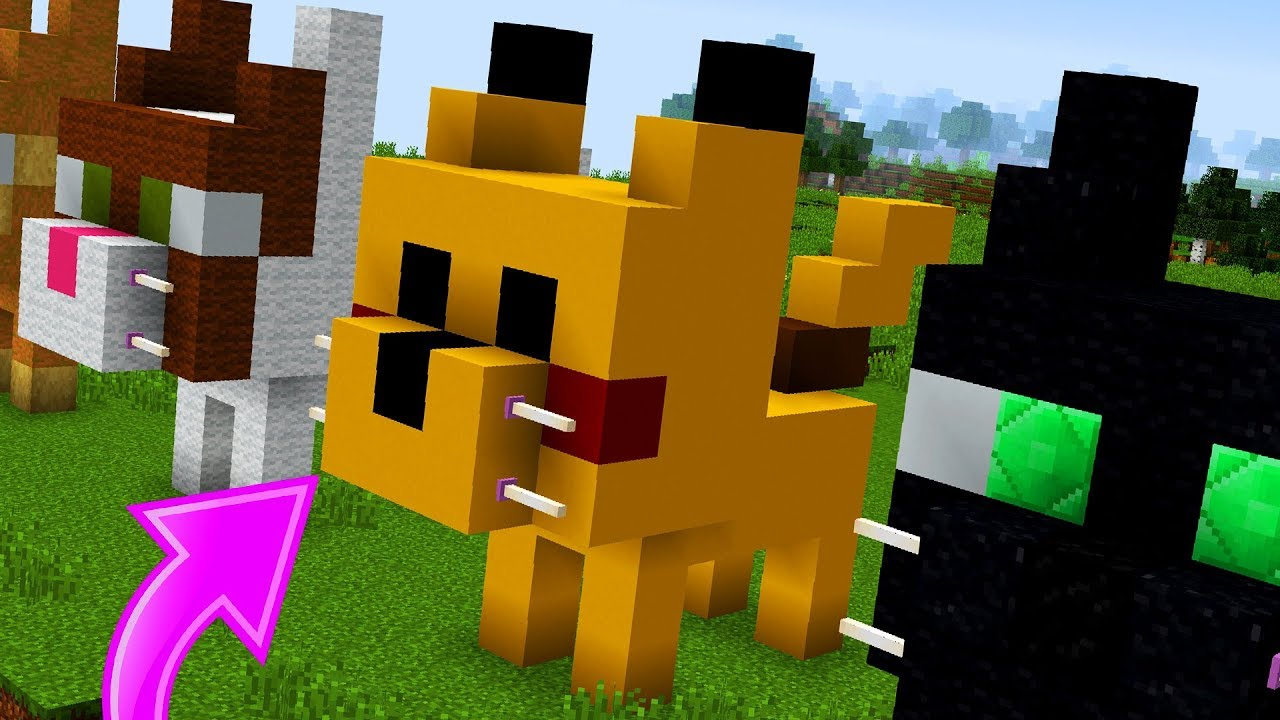 How to Build Cute Cat Statues in Minecraft