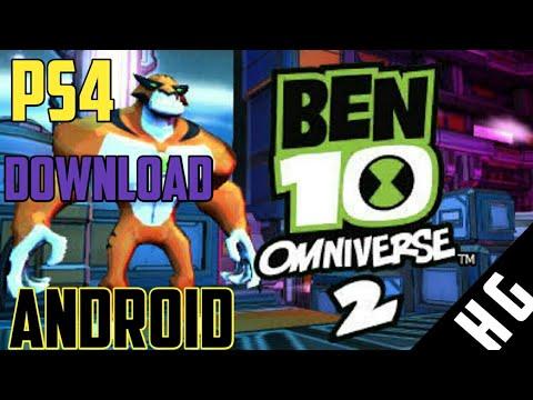 ben 10 omniverse 2 psp iso game download
