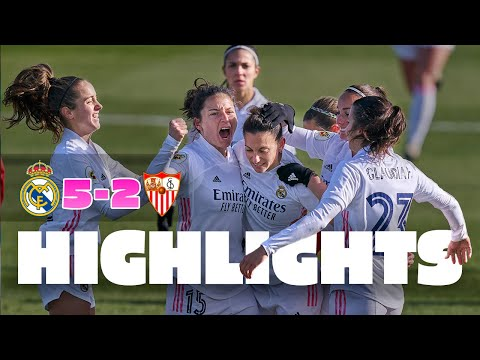 ⚽ GOALS AND HIGHLIGHTS   Real Madrid 5-2 Sevilla