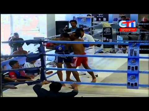 Khmer Boxing internation Khmer Boxing At CTN 04 March 2015