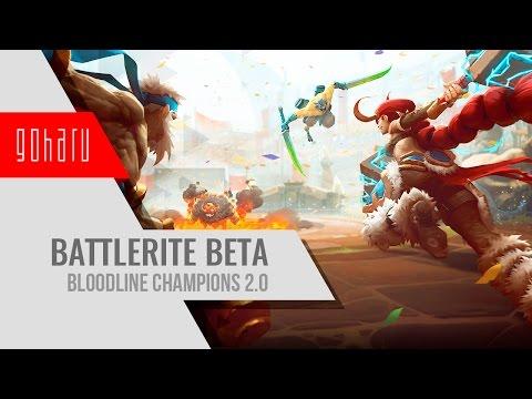 видео: battlerite - bloodline champions в новом обличии