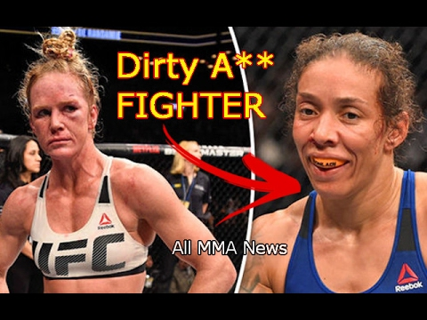Holly Holm found out that Germaine De Randamie is a DIRTY A** FIGHTER!
