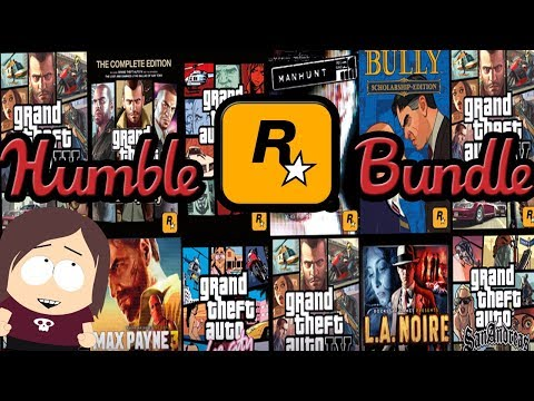 Humble Rockstar Bundle || Last Chance for Humble Monthly